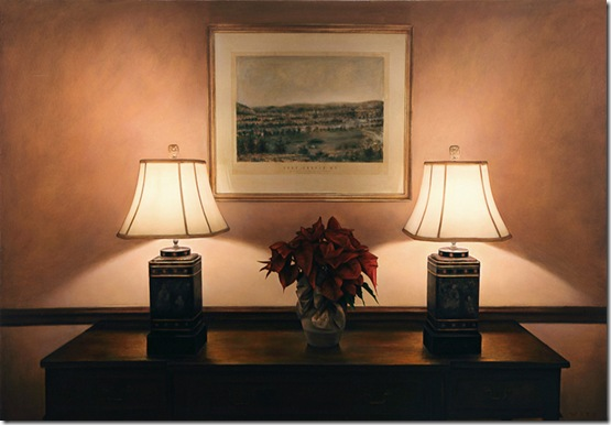 Dan-witz-Park Ave Lobby Lamps with Poinsettia