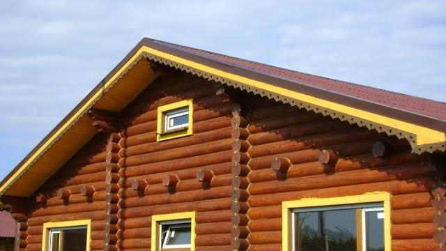 Деревянные дома.Тананорг