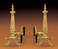 Chinese Emperial andirons