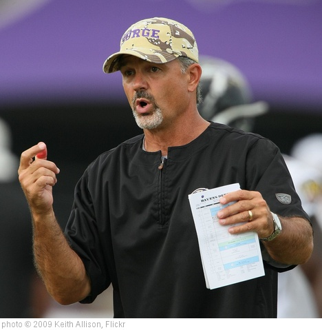 'Indianapolis Colts/Baltimore Ravens Coach Chuck Pagano' photo (c) 2009, Keith Allison - license: http://creativecommons.org/licenses/by-sa/2.0/