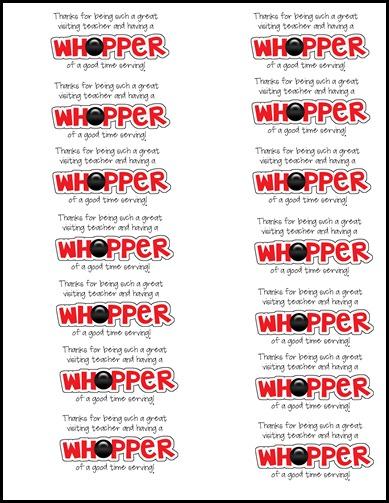 whopper copy
