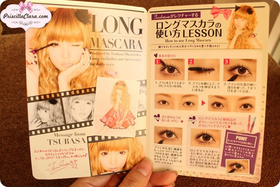 Dolly Wink mascara long leaflet copy