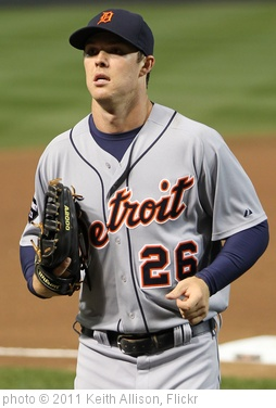 'Brennan Boesch' photo (c) 2011, Keith Allison - license: http://creativecommons.org/licenses/by-sa/2.0/