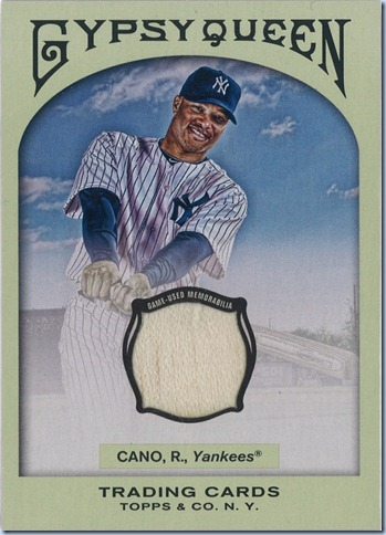 2011 Gypsy Queen Cano Bat