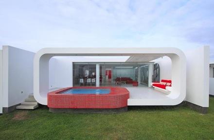 casa-contemporanea-piscina