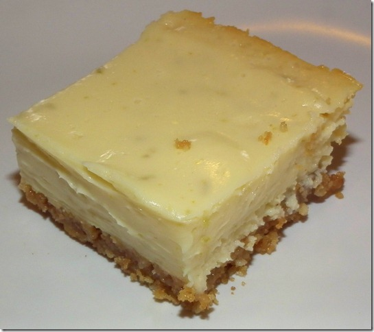 Keylime Cheesecake Bars 11-24-11
