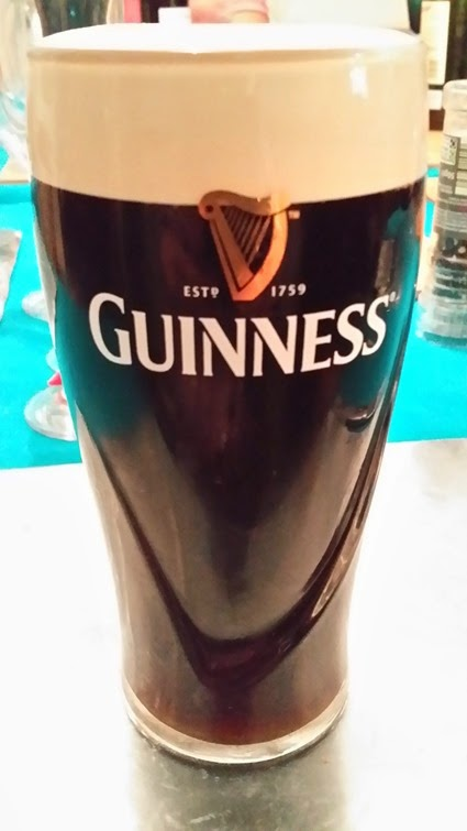 The perfectly poured Guinness?
