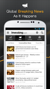 Stocks, Forex, Futures & News- screenshot thumbnail