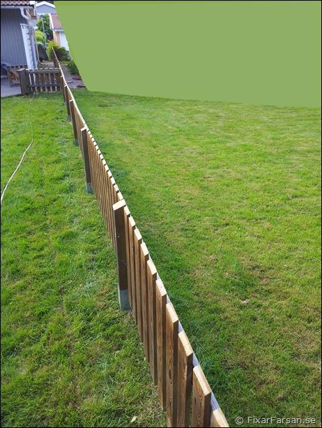 Bygga Staket mellan parhus - Före/Efter Bilder | FixarFarsan : staket gammalt : Staket