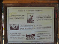 Red River Ranger Station (placard) Photo