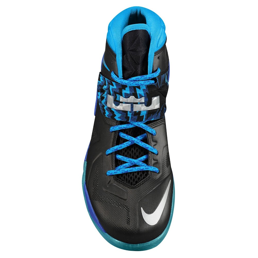 Lebrons 11 Blue And Red LEBRON's Nike Zoom Sol...