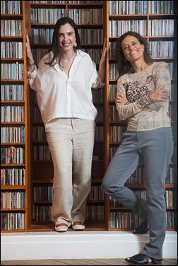 Adriana Calcanhoto e Zélia Duncan