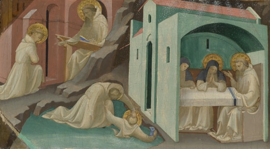 Lorenzo monaco incidents life saint benedict NG4062 fm