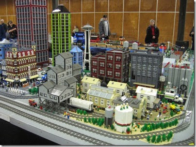 IMG_0173 Greater Portland Lego Railroaders Layout at the Great Train Expo in Portland, Oregon on February 16, 2008