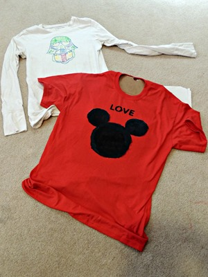 Totally Tulip Fabric Paint T-Shirts - Disney