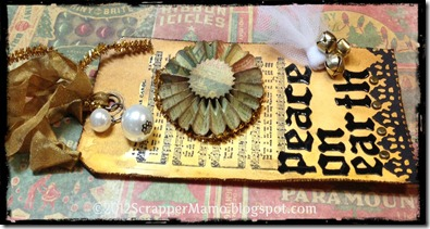 peace on earth tag  side view w border