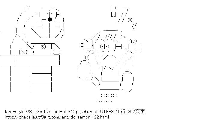 [AA]ドラえもん & 野比のび太