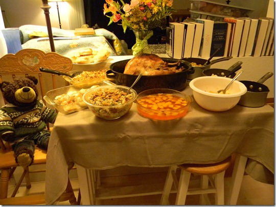 our thanksgiving feast 1