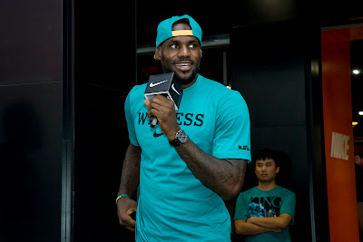 other event 140724 lebron rise tour asia 1 18 LeBron James Sneaker Rotation During 2014 Rise Tour in Asia