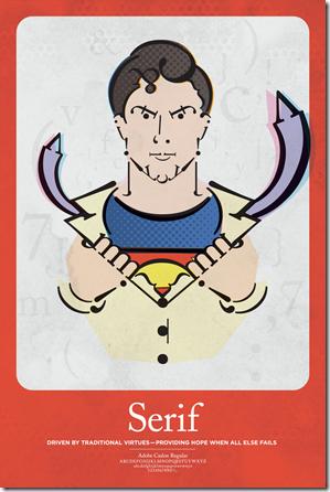 typo superman