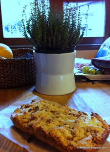 Biscotti loaf #1