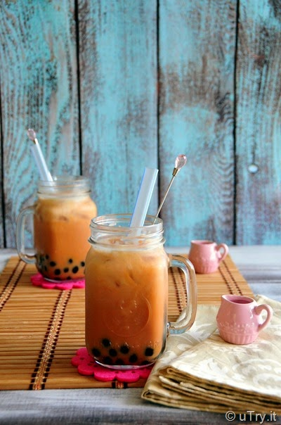 Come learn how to make the authentic Taiwaniese style Iced Boba Milk Tea with video tutorial  http://uTry.it