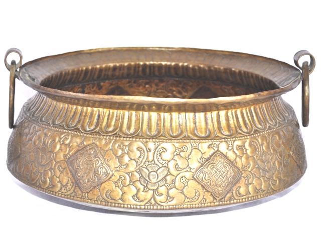 Brass Kota Flower Vase
