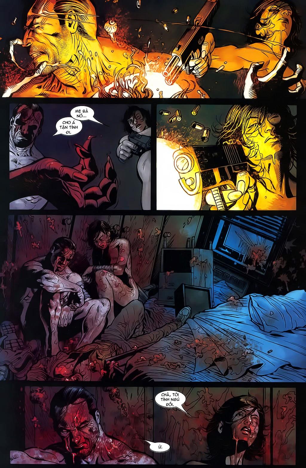 The Punisher: Trên là Dưới & Trắng là Đen chap 6 - Trang 9