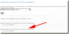 blackberry simulator