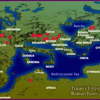 00e.-Imperio romano con las bases de la época de Trajano