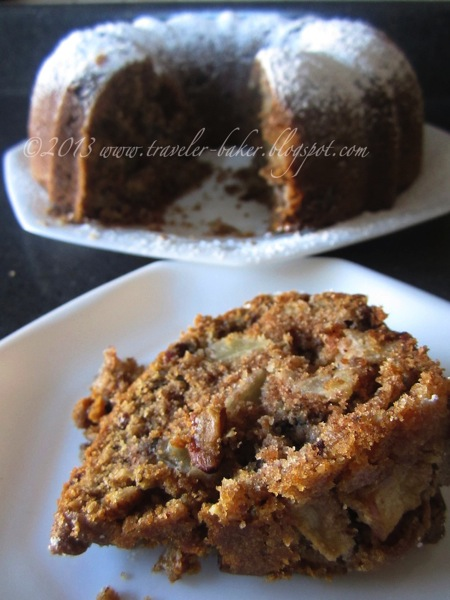 Southern Apple Pecan Cake 4