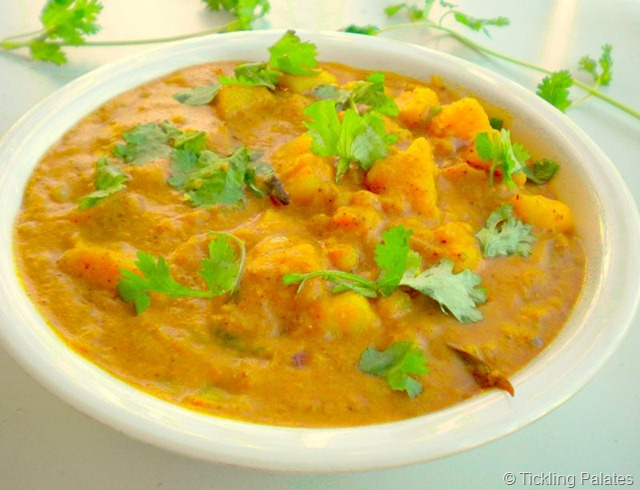 Chettinad Potato Kurma