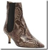 LK Bennett Snake Ankle Boots