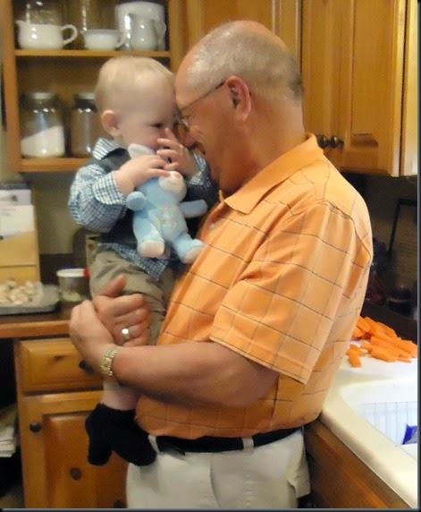 Grandpa and Zayne Easter 3