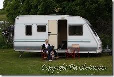 Camping på Møn