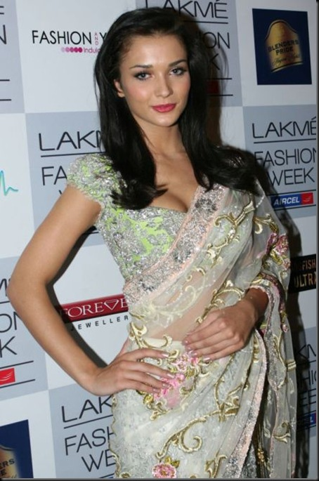 Amy Jackson  at Lakme Fashion Week 2012_23