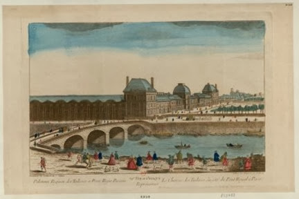 Le Chateau des Tuileries du côté du Pont Royal a Paris - French Revolution Digital Archive (http://frda-stage.stanford.edu)