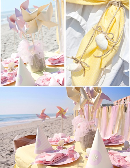 Semplicemente Perfetto beach-baby-table-details