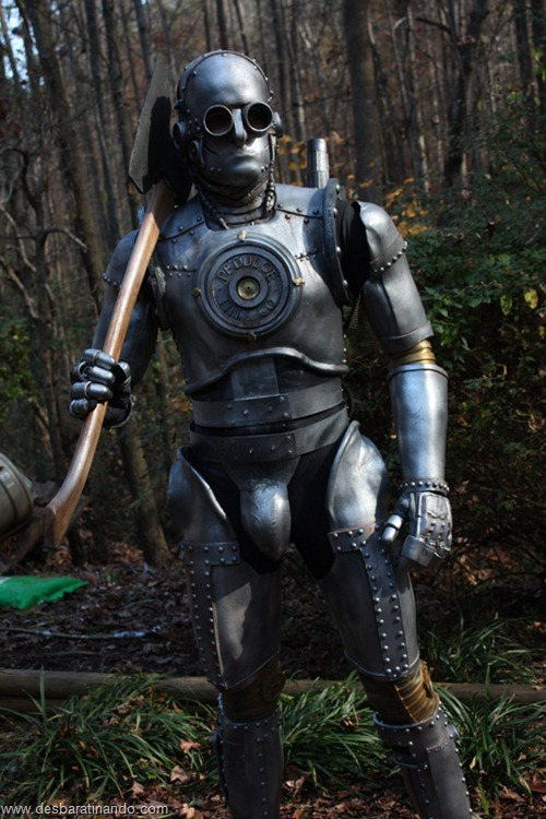 armadura iron man homem de ferro steam punk desbaratinando  (5)