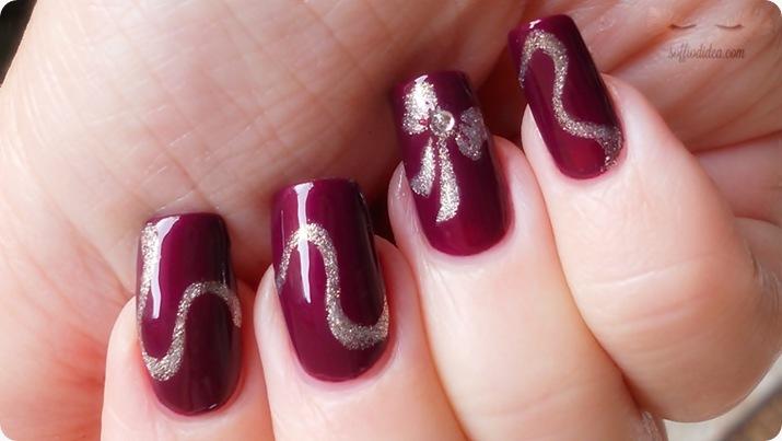 nailart - soffio di dea - soffiodidea - fiocco - nail art - 14a