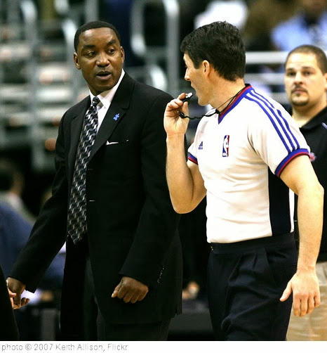 'Isiah Thomas' photo (c) 2007, Keith Allison - license: http://creativecommons.org/licenses/by-sa/2.0/