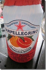san pellegrino blood orange, 240baon