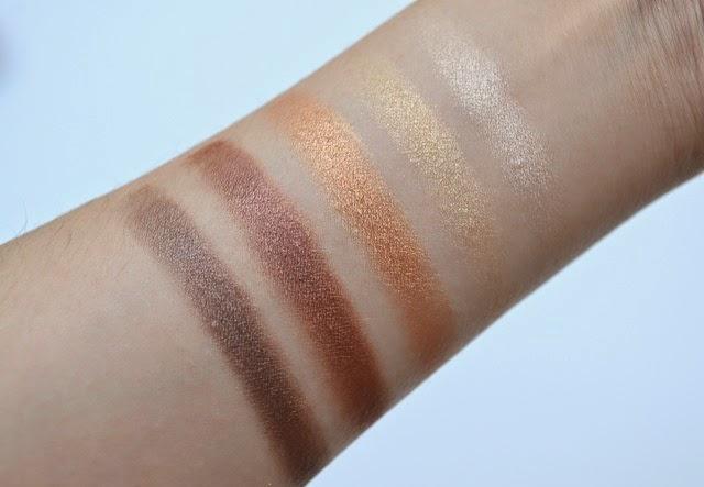 Guerlain Petrouchka Palette Swatches Eyes
