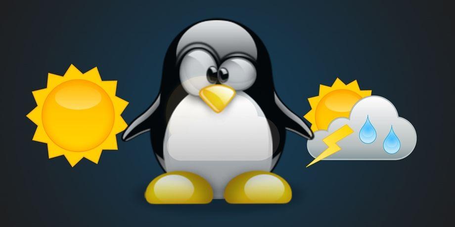 Le 10 migliori applicazioni per le previsioni meteo in Linux