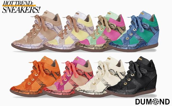 Sneakers Dumond salto embutido verao 2013