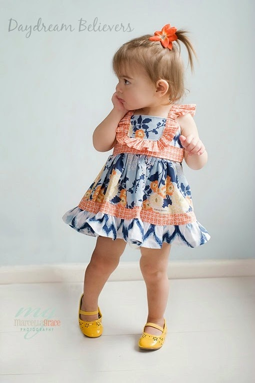 Vintage inspired babydoll party dress handmade by daydream believers designs