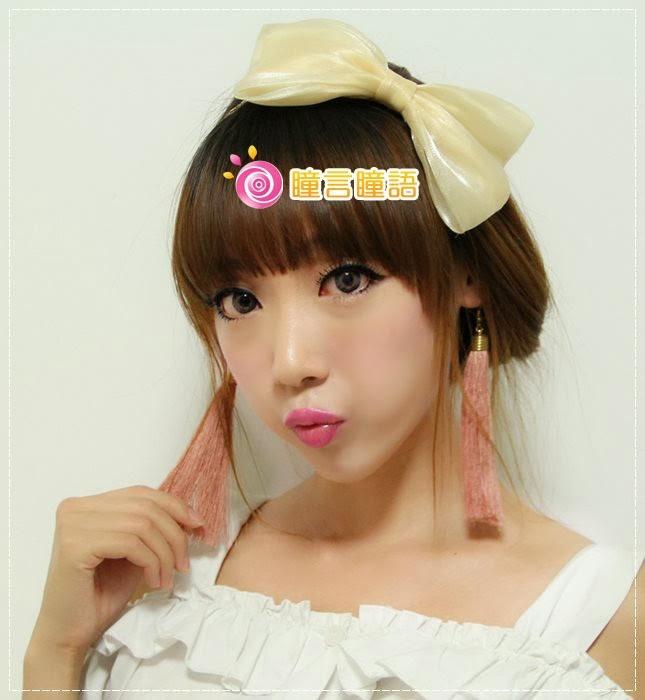 韓國GEO隱形眼鏡-GEO Eyes Cream 霜淇淋灰6