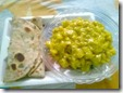 48 - Spring-Onion-Roti with Saffron-Bottle Gourd