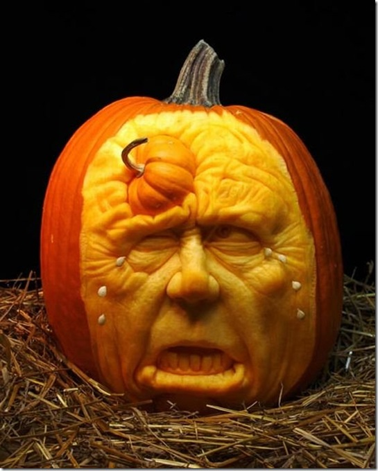 awesome pumpkin carving 9