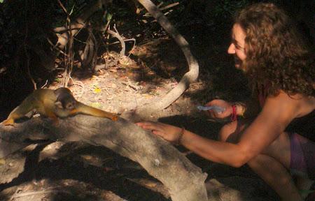 Iunia Pasca: Jucandu-ma cu o maimuta